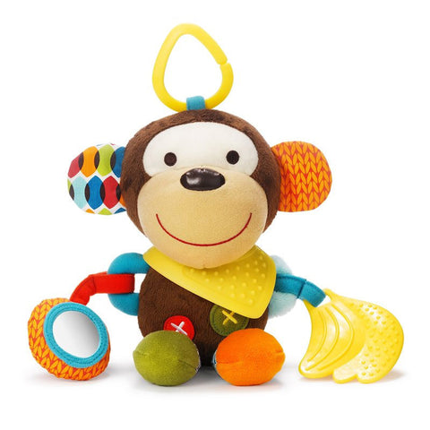 Skip Hop Bandana Buddies Monkey Baby Toy - PeppyParents.com