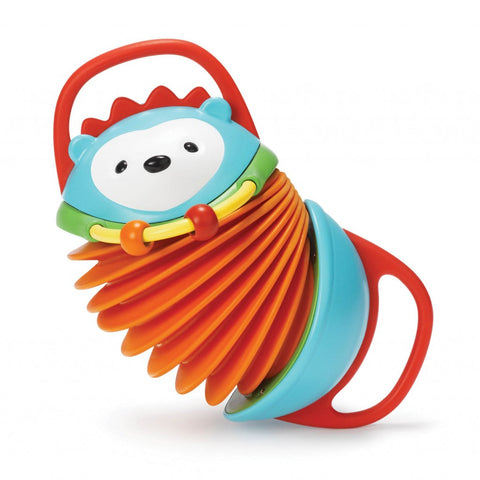 Skip Hop Explore & More Hedgehog Accordion Toy - PeppyParents.com  - 1