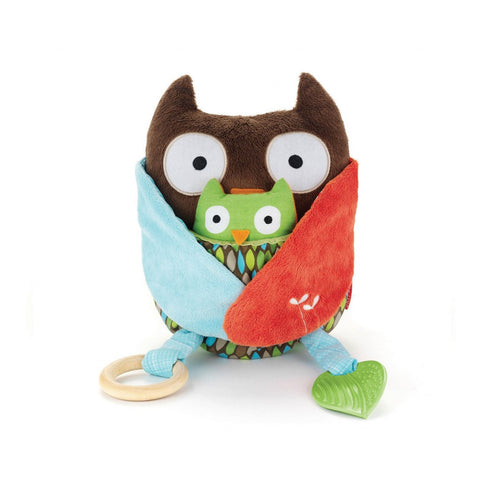 Skip Hop Hug and Hide Owl Activity Toy - PeppyParents.com