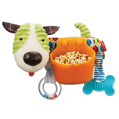 Skip Hop Stroller Bar Puppy Snack Toy - PeppyParents.com