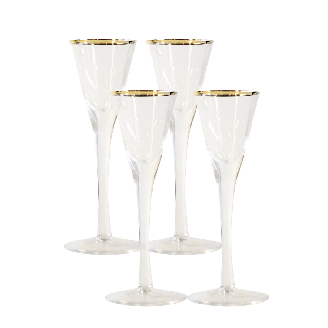 CASTLE shotteglass 4pk