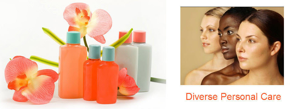Diverse Personal Care Products