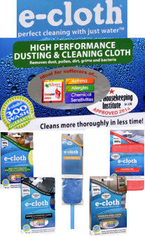 Spring Cleaning Feature:  E-Cloth Products