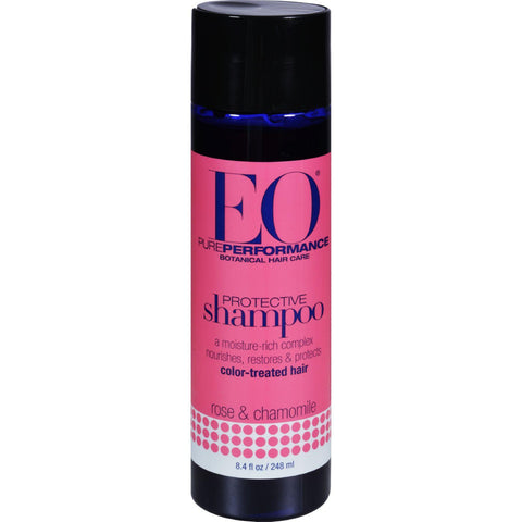 Eo Products Shampoo Rose And Chamomile - 8 Fl Oz