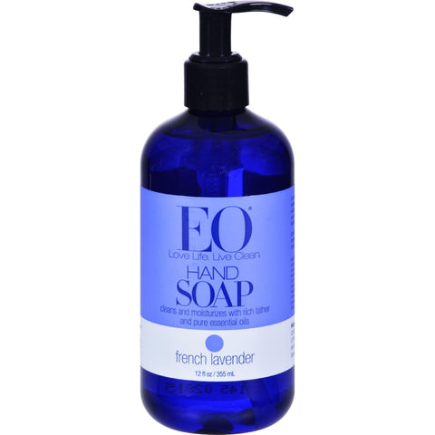 Eo Products Liquid Hand Soap French Lavender - 12 Fl Oz