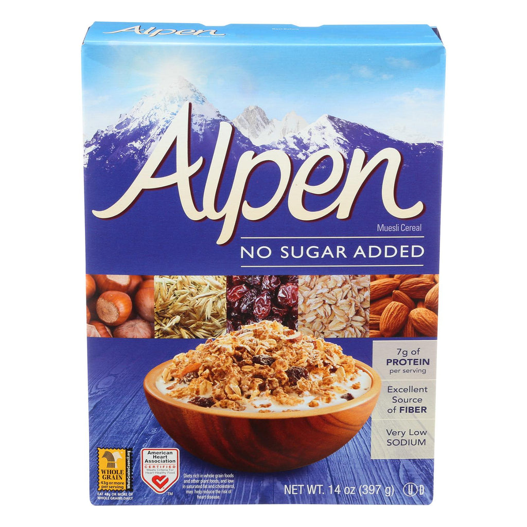 Alpen No Added Sugar Muesli Cereal - 14 Oz.