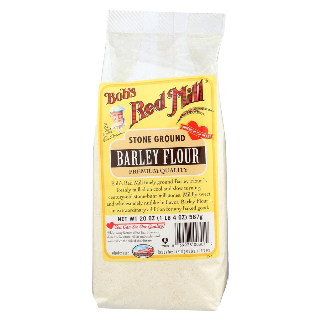 Bob's Red Mill Flour - Barley - Case Of 4 - 20 Oz