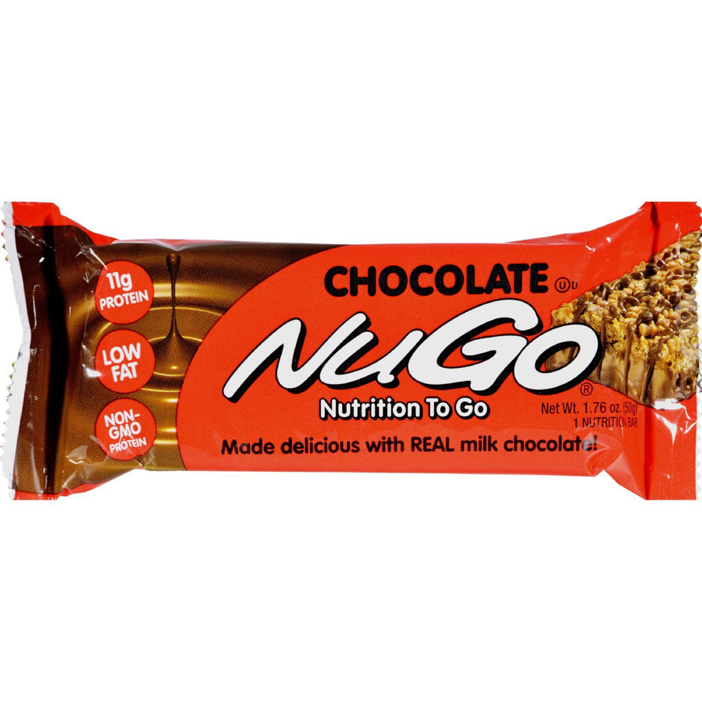 Nugo Nutrition Bar - Chocolate - Case Of 15 - 1.76 Oz - Default Title - Cooking, Foods & Beverages - Nugo Nutrition