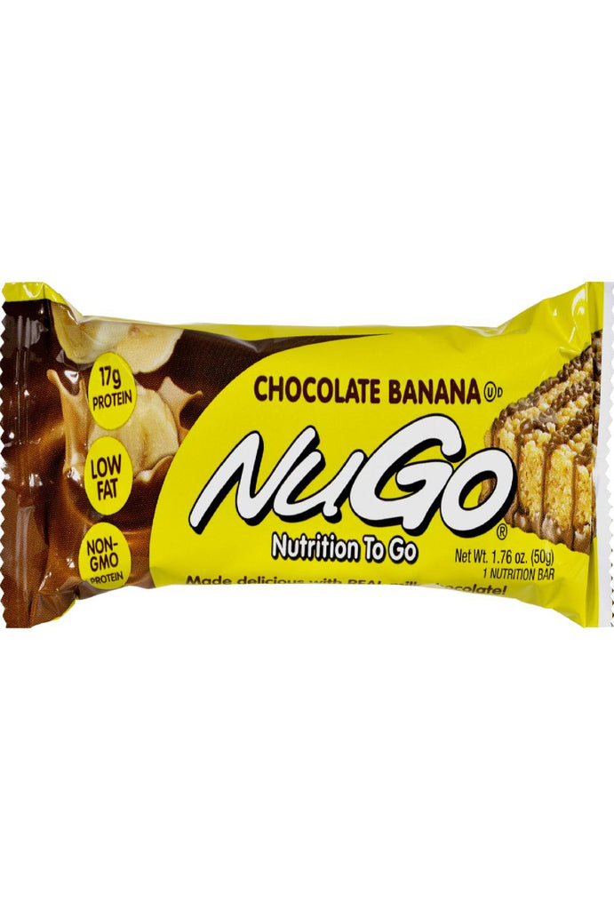 Nugo Nutrition Bar - Chocolate Banana - Case Of 15 - 1.76 Oz - Default Title - Cooking, Foods & Beverages - Nugo Nutrition