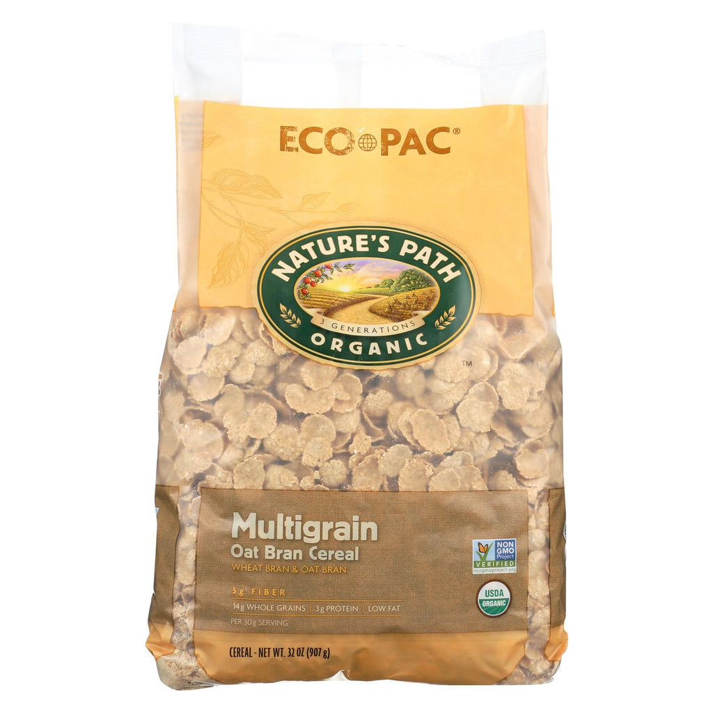 Nature's Path Organic Multigrain Oat-bran Cereal - Case Of 6 - 32 Oz.