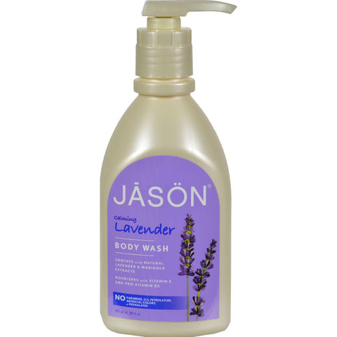 Jason Body Wash Pure Natural Calming Lavender - 30 Fl Oz - EcoOrganic Goods