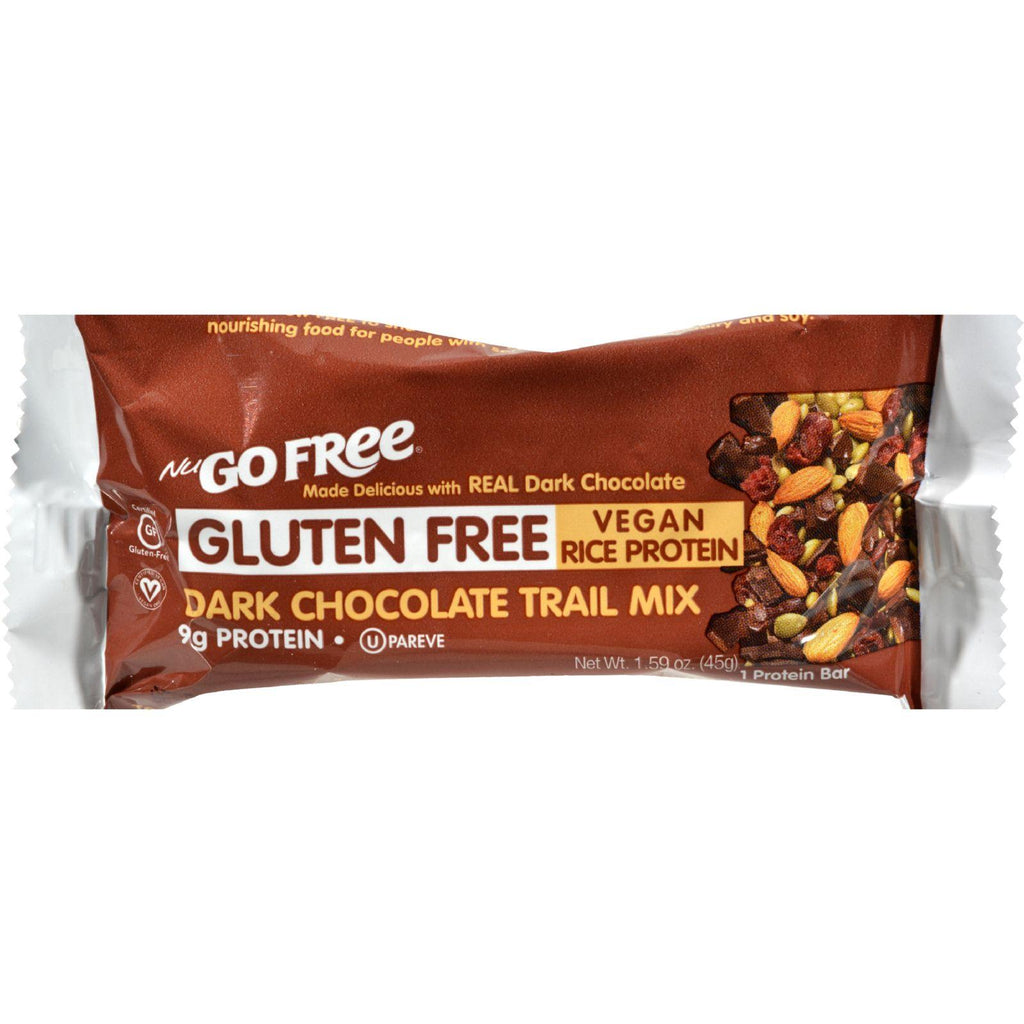 Nugo Nutrition Trail Mix Bar - Gluten Free - Dark Chocolate - Case Of 12 - 45 Grams - Default Title - Cooking, Foods & Beverages - Nugo Nutrition