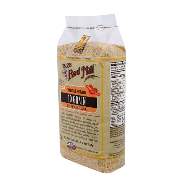 Bob's Red Mill 10 Grain Hot Cereal - 25 Oz - Case Of 4
