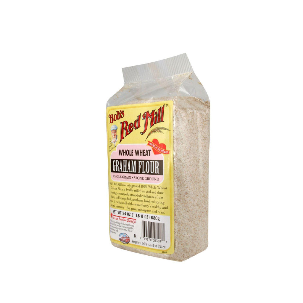 Bob's Red Mill Graham Flour - 24 Oz - Case Of 4