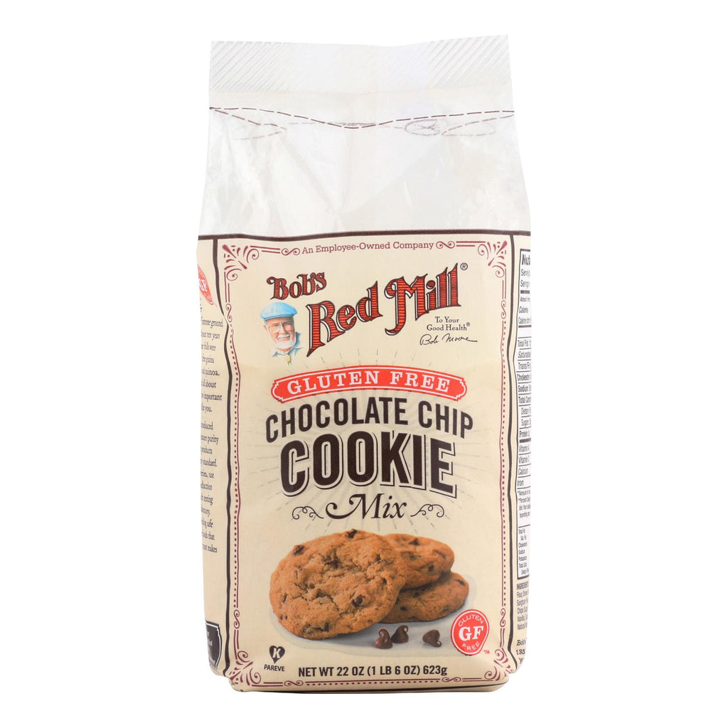 Bob's Red Mill Gluten Free Chocolate Chip Cookie Mix - 22 Oz - Case Of 4
