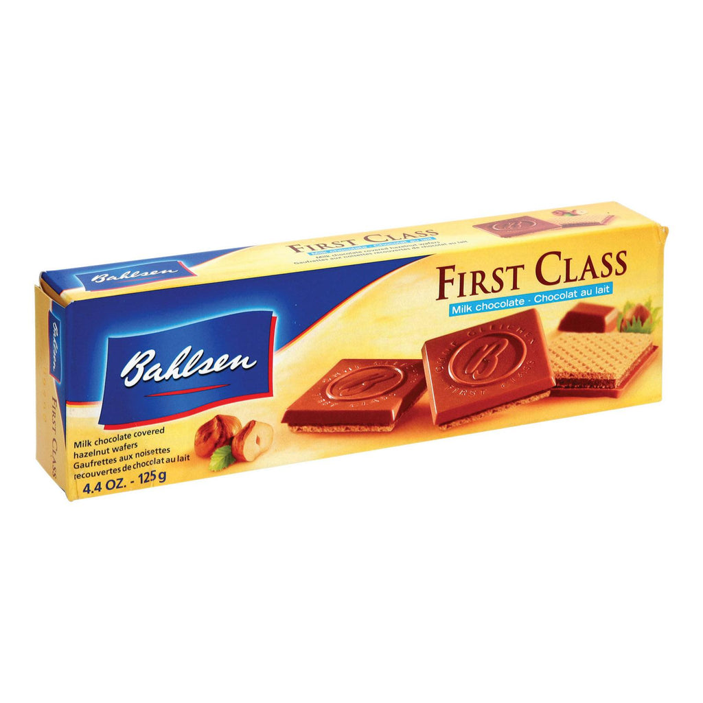 Bahlsen First Class Milk Chocolate Cookies - Case Of 12 - 4.4 Oz.