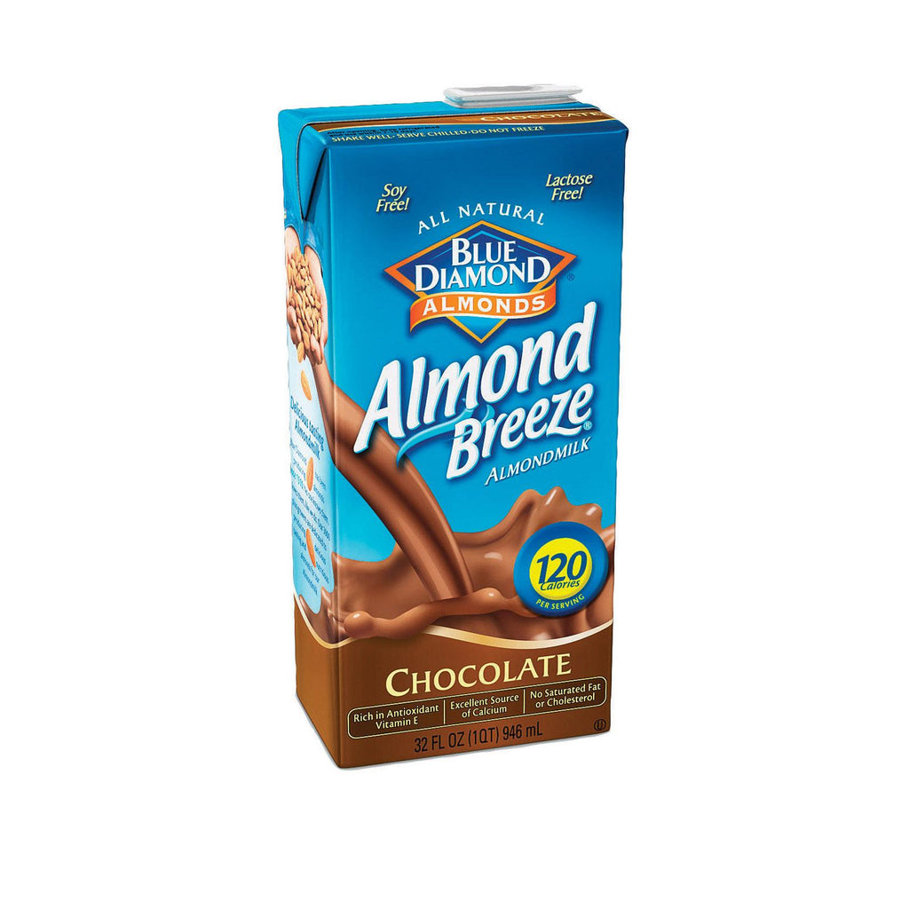 Almond Breeze Almond Breeze - Chocolate - Case Of 12 - 32 Fl Oz