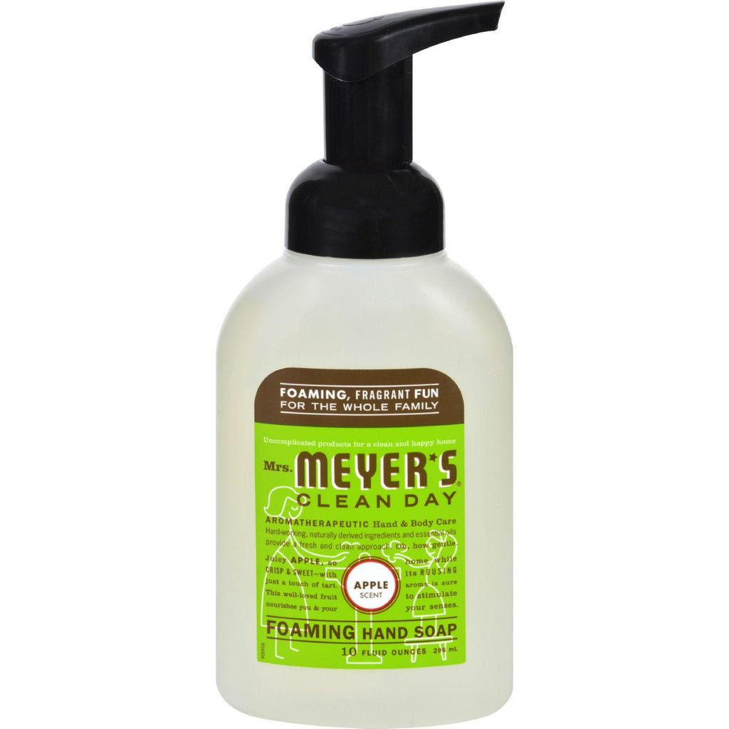 Mrs. Meyer's Foaming Hand Soap - Apple - Case Of 6 - 10 Fl Oz - Default Title - Men & Women's Personal Care - Mrs. Meyer's
