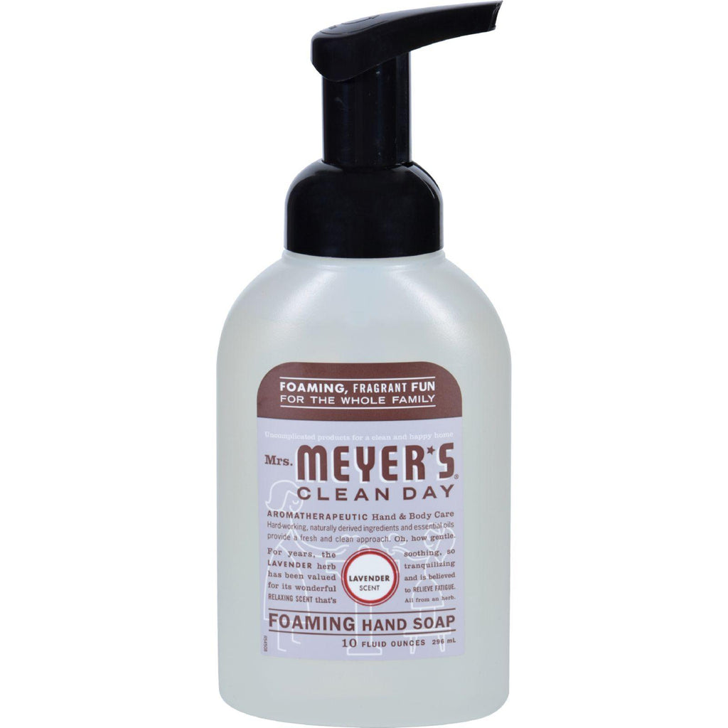 Mrs. Meyer's Foaming Hand Soap - Lavender - 10 Fl Oz - Default Title - Men & Women's Personal Care - Mrs. Meyer's