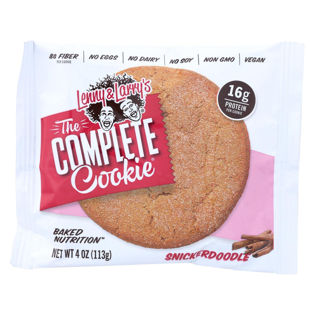 Lenny And Larry's Snickerdoodle Cookie - Cinnamon - Case Of 12 - 4 Oz.