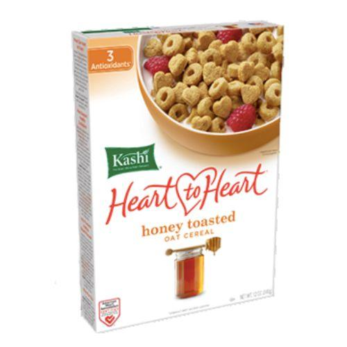 Kashi Cereal - Oat - Heart To Heart - Honey Toasted - 12 Oz - Case Of 12
