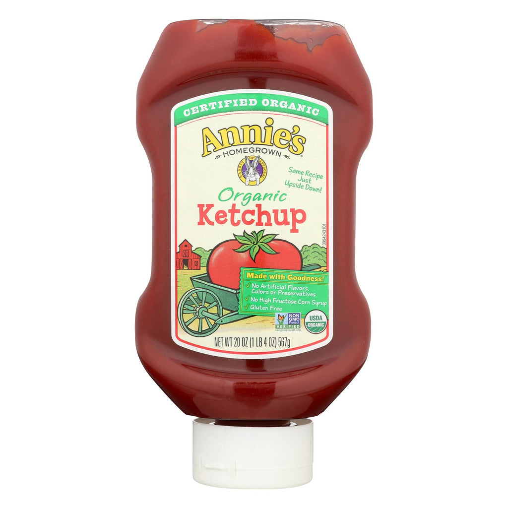 Annie's Homegrown Annie's Naturals Organic Ketchup - Case Of 12 - 20 Oz.