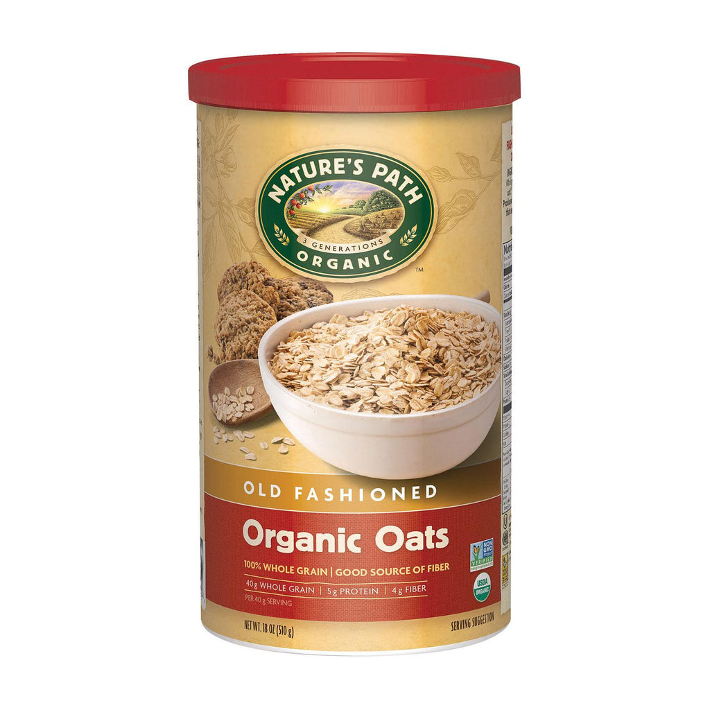 Nature's Path Oats - Old Fashioned - Case Of 6 - 18 Oz.
