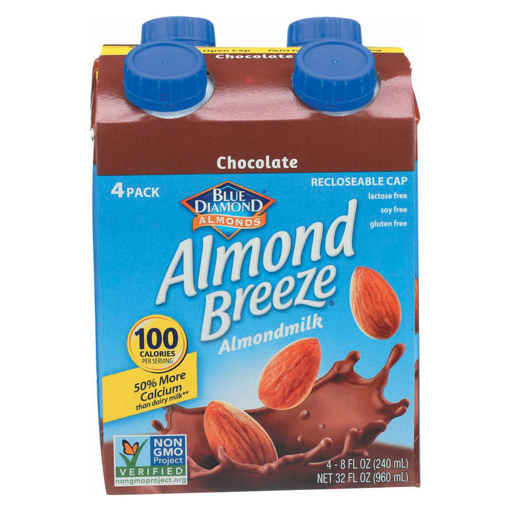 Almond Breeze Almond Breeze - Chocolate - Case Of 6 - 4-8 Oz