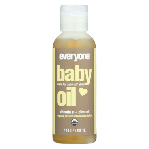 Everyone Baby Oil - Organic - 4 Fl Oz
