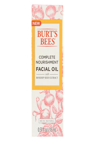 Burts Bees Facial Oil - Complete Nourishment - .51 Oz