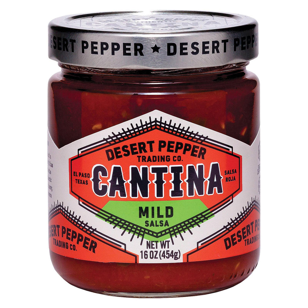 Desert Pepper Trading Cantina Salsa - Mild - Case Of 6 - 16 Oz