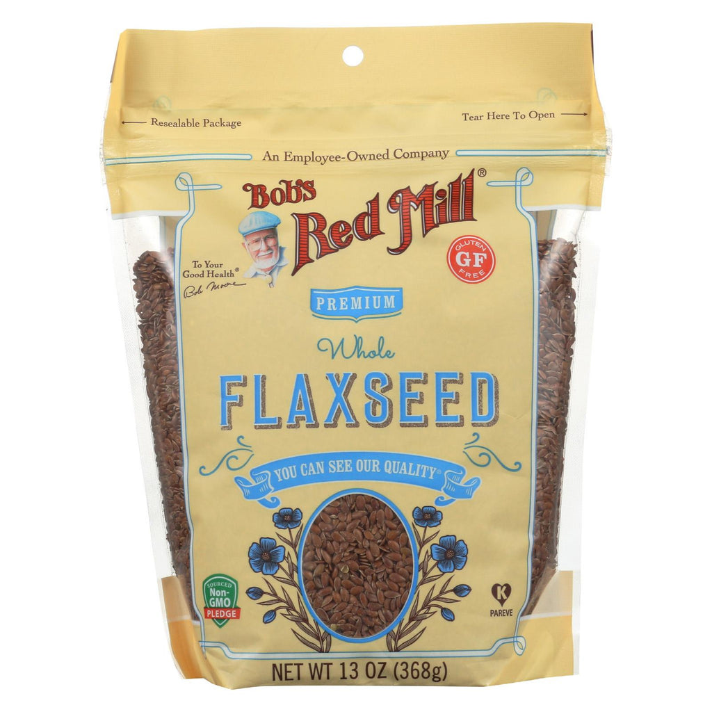 Bob's Red Mill Flaxseeds - Gluten Free - Case Of 6 - 13 Oz