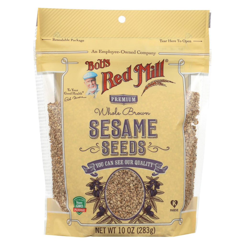 Bob's Red Mill Seeds - Sesame - Case Of 6 - 10 Oz