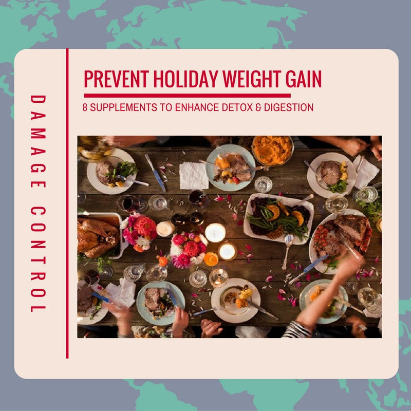 8 Dietary Supplements That Can Help Avoid Holiday Weight Gain