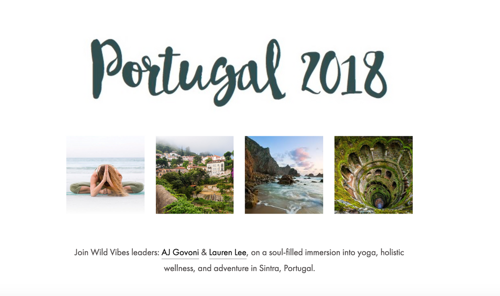Yoga and Adventure Retreat - Portugal