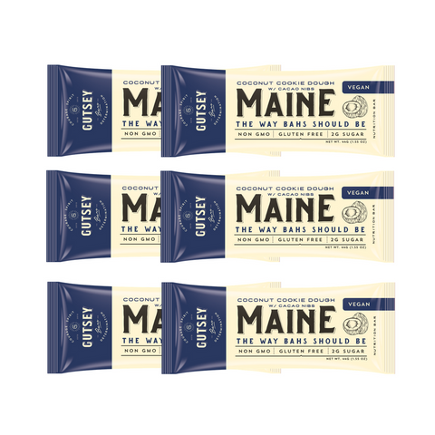 Six Pack - MAINE Coconut Cookie Dough (6 bars)