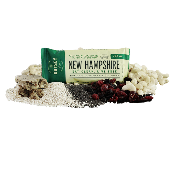 Sampler Pack - NEW HAMPSHIRE Quinoa Cookie (3 bars)