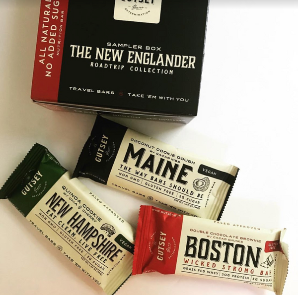 NEW ENGLANDER Sampler box (4 of each flavor)