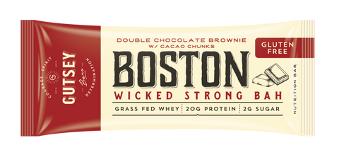 BOSTON -  Double Chocolate Brownie w/ Cacao Chunks (12 bars)