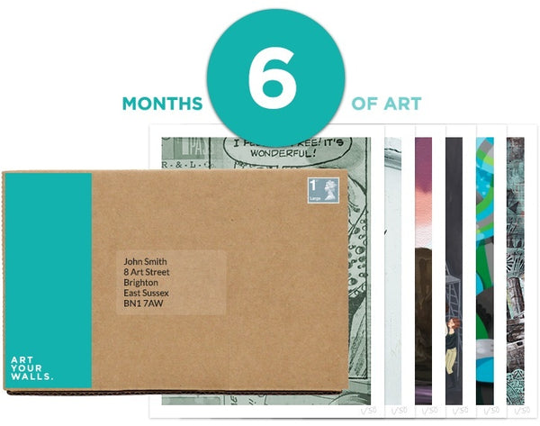 6 Months Art Subscription