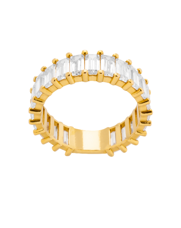 ANILLO SNOW GOLD