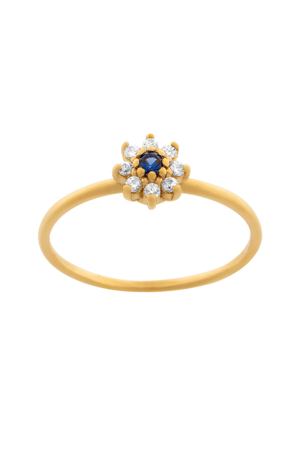 Anillo Margherita Blue
