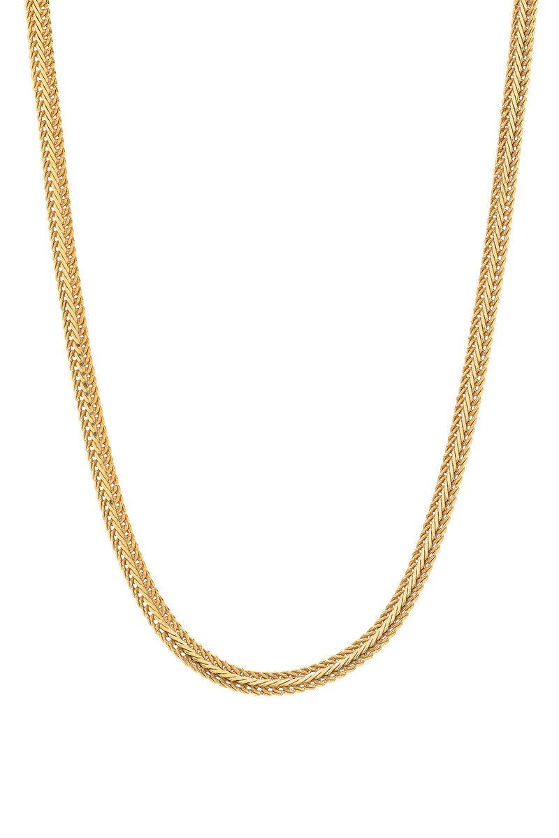COLLAR GOLD WAVE