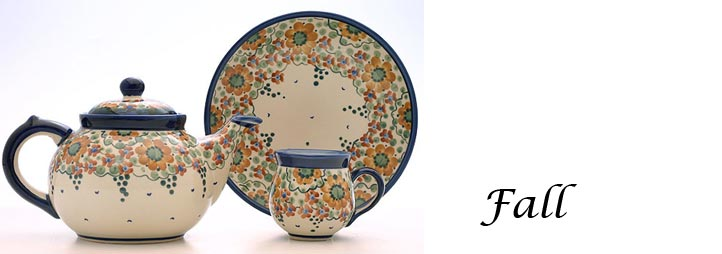 Polish Pottery Pattern Fall