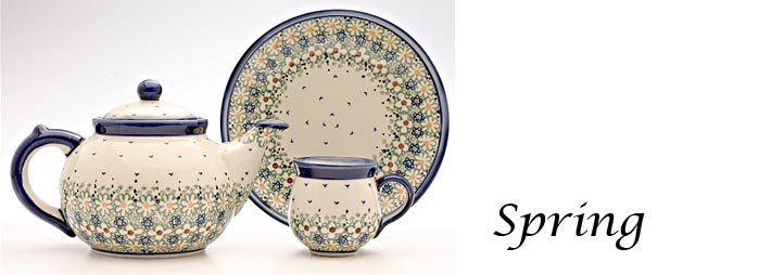 Polish Pottery Pattern Spring