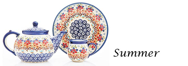 Polish Pottery Pattern Summer