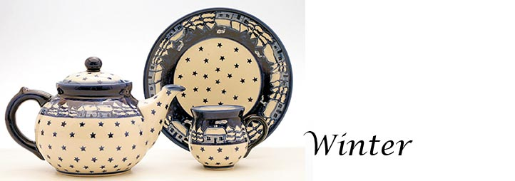 Polish Pottery Pattern Winter