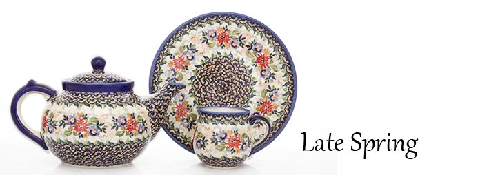 Polish Pottery Late Spring Pattern