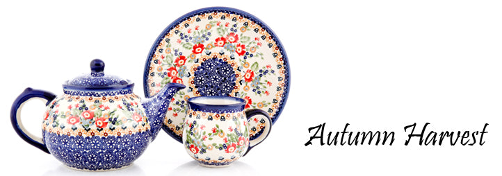 Autumn Harvest 2013 Signature Polish Pottery Collection