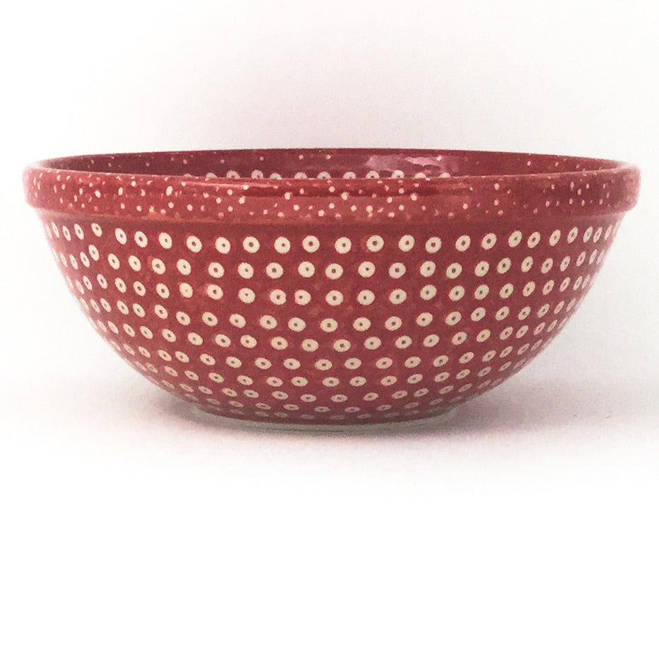 New Soup Bowl 20 oz in Red Elegance